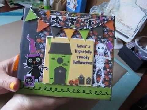 Halloween Scrapbook Album Halloween Pinterest Halloween