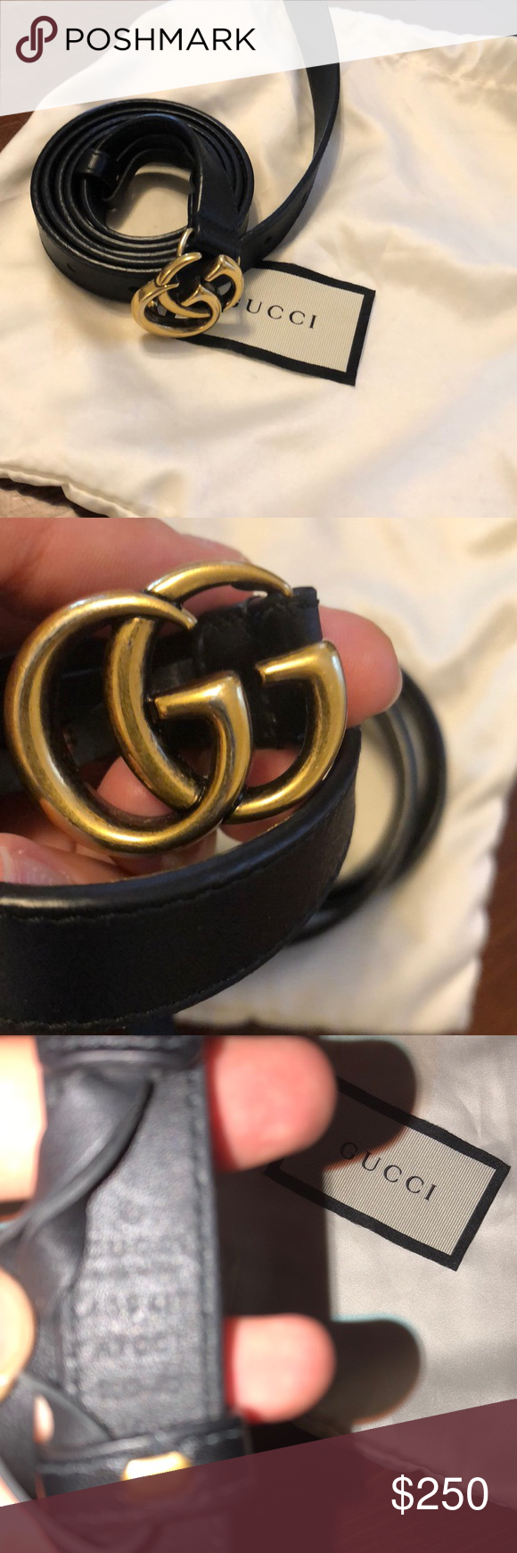 a23727d1175 Gucci marmont belt Size 38. Comes with dustbag. Gucci Accessories Belts