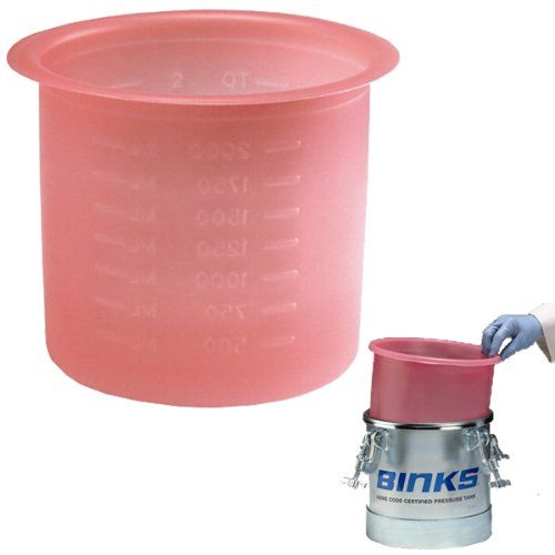 Box Of 10 Devilbiss Binks 2 7 Gallon Paint Pressure Feed Pot Tank Liners Pt 52 K10 10 Liners Gallon Pressure Pot Paint Sprayer
