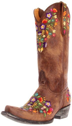 00c7a7ed3ef Old Gringo Women's Sora Western Boot,Brass,9 B US They're expensive ...
