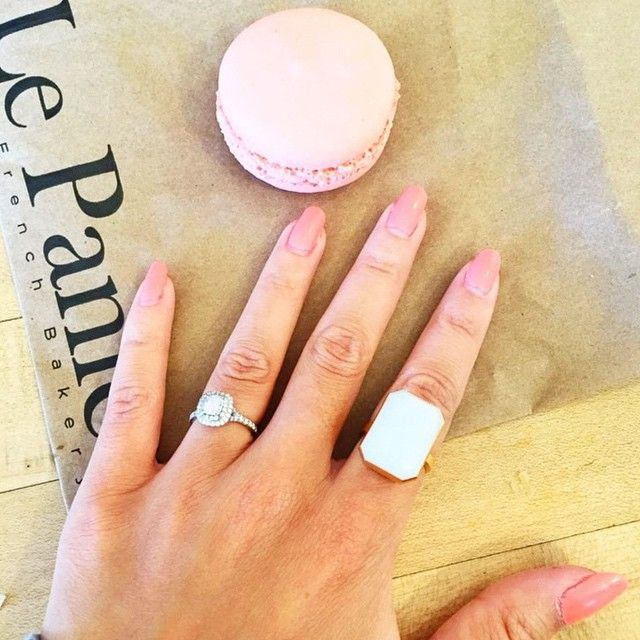 Love your #ManiMonday look *and* sweet treat @taraslosberg!