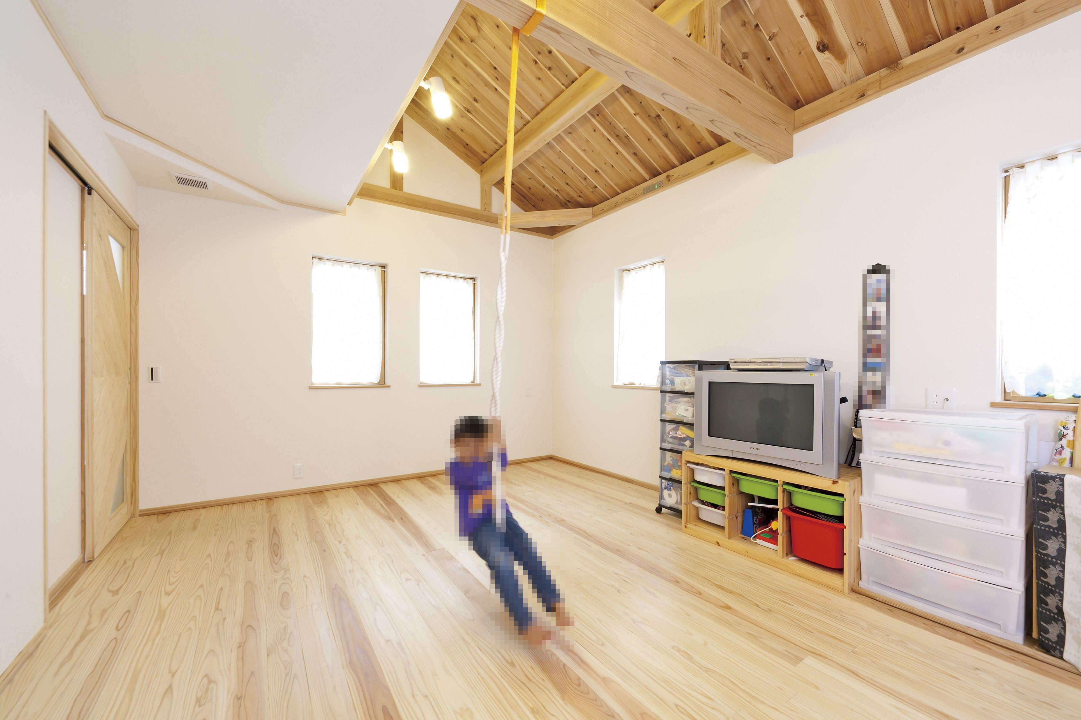 部屋中の温度差がなく 新鮮な空気が常に流れている健康住宅だからこそ