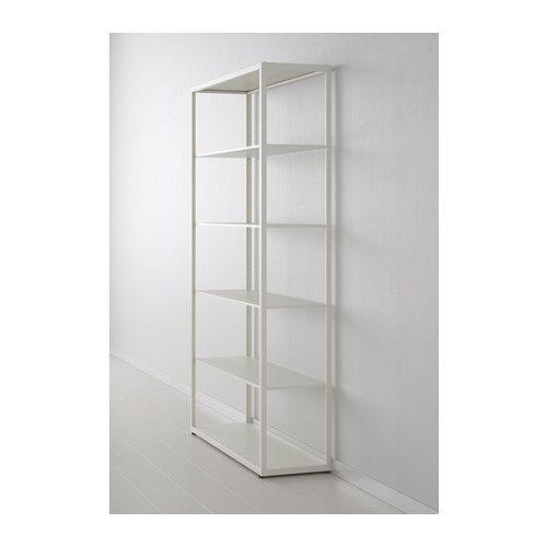 Venta Estanteria Ikea.Fjalkinge Estanteria Blanco 118 X 193 Cm Metal Pinterest