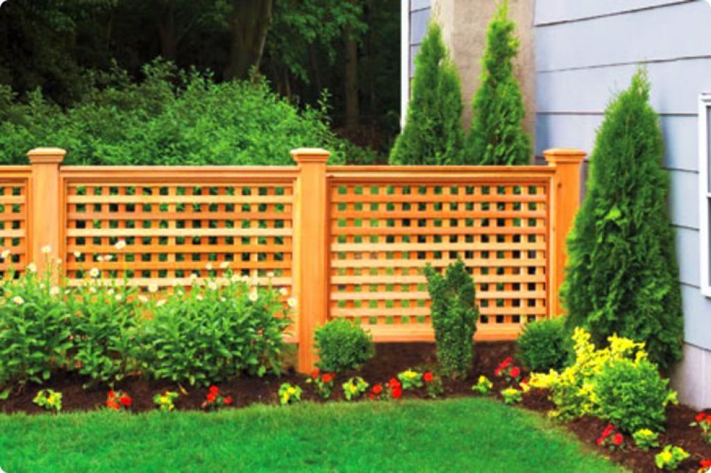 Decorative Outdoor Fences Gate Pinterest Fence, Privacy fences
