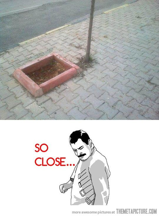 Close…