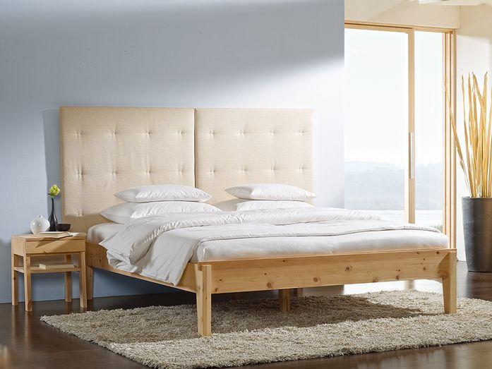Bett Alpina Ohne Betthaupt Wohnen Und So Bett Zirben Grune Erde