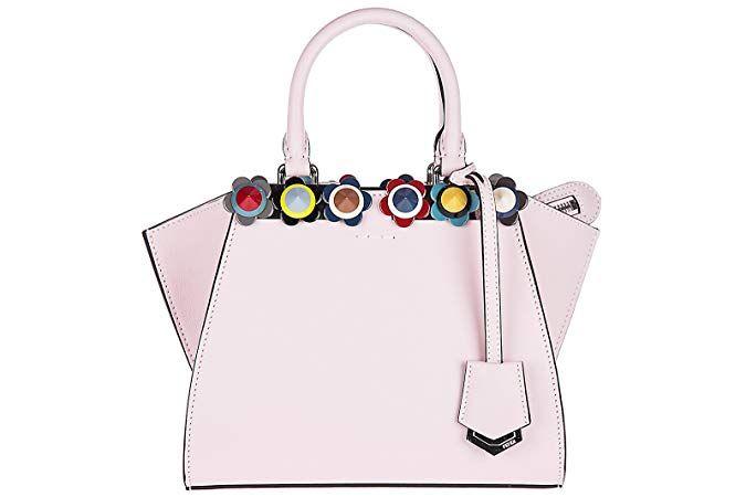 648f8dee8dd8f Fendi Leder Handtasche Damen Tasche Bag 3jours mini rosa