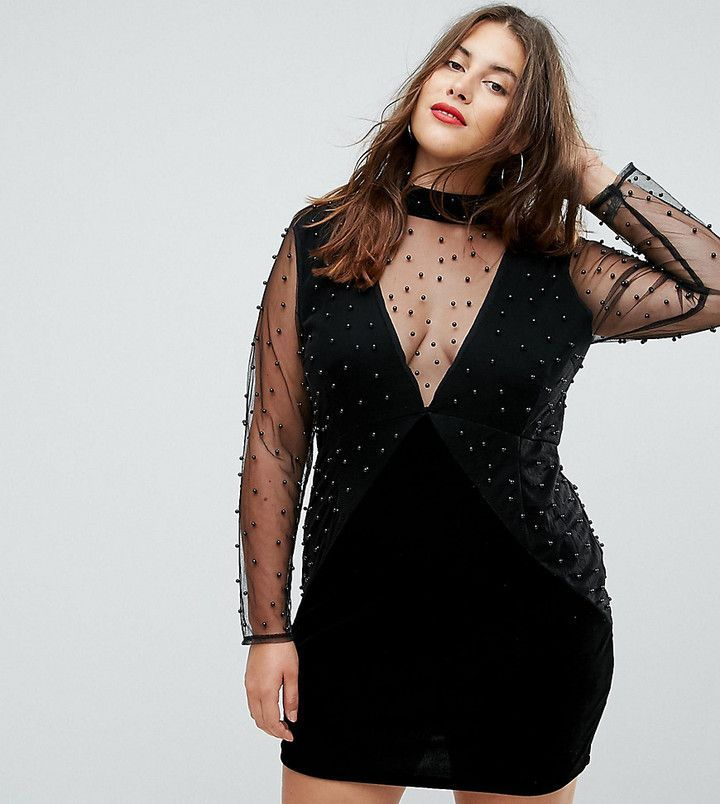 Womens V Neck Dress Boohoo Plus Discount Sale Online Discount Reliable Geniue Stockist Cheap Price View How Much Cheap Price devUFIOR