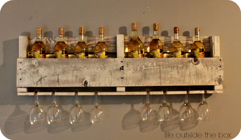 Check Out This Awesome DIY Pallet Wine Rack! One Pallet Makes Two Racks,  Perfect