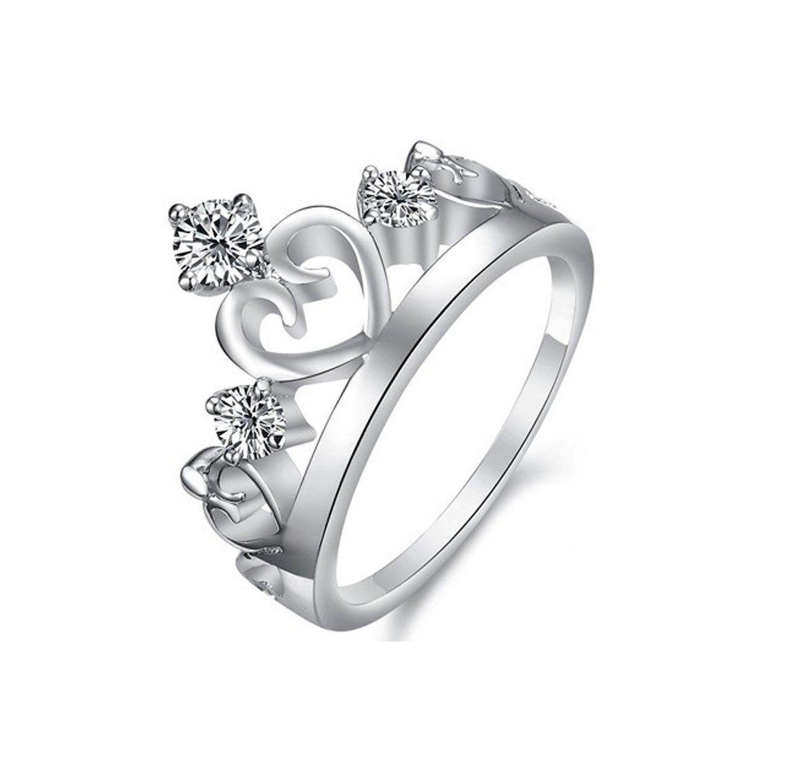 DamenKrone Ring grace 925 Sterling Silber glam  Tattoo  Bild  Tattoo krone Ringe und Schmuck
