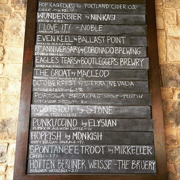 "Haven Gastropub on Instagram: ""Tuesday drinking. #craftbeer #ontapnow #crafteats #havengastropub #oldtowneorange"""