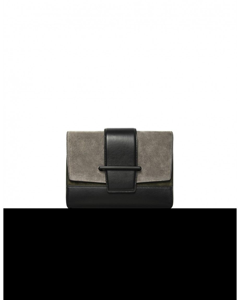 Narciso Rodriguez Narciso Rodriguez - Official website. Shop Grey, Black + Olive Clutch on a Chain