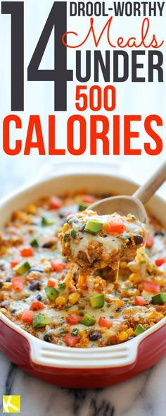 14 Drool Worthy Meals Under 500 Calories 500 Calories Meals And Food