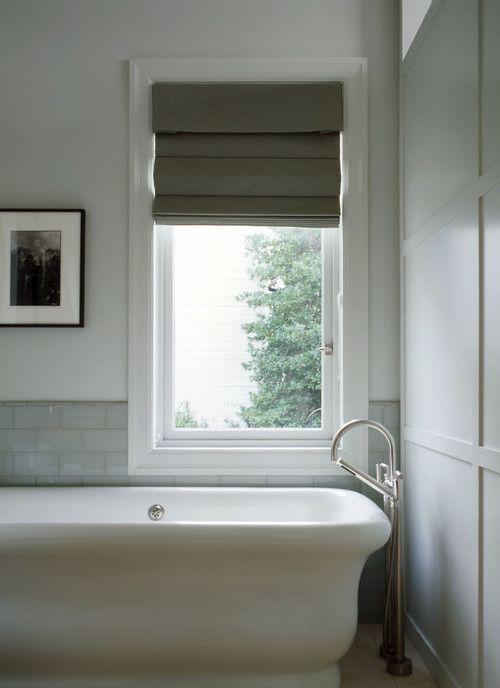 Pretty bath Clean and simple The Tides Bathroom Pinterest - persianas modernas