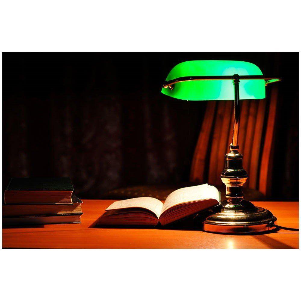 esFaro envejecido Banker Amazon lámpara sobremesa 68334 354AjLR