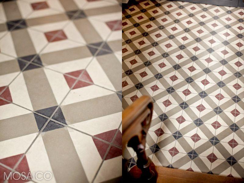 Mosáico-Zementfliesen, Villa #Drachenburg bei #Königswinter - mosaik fliesen k che