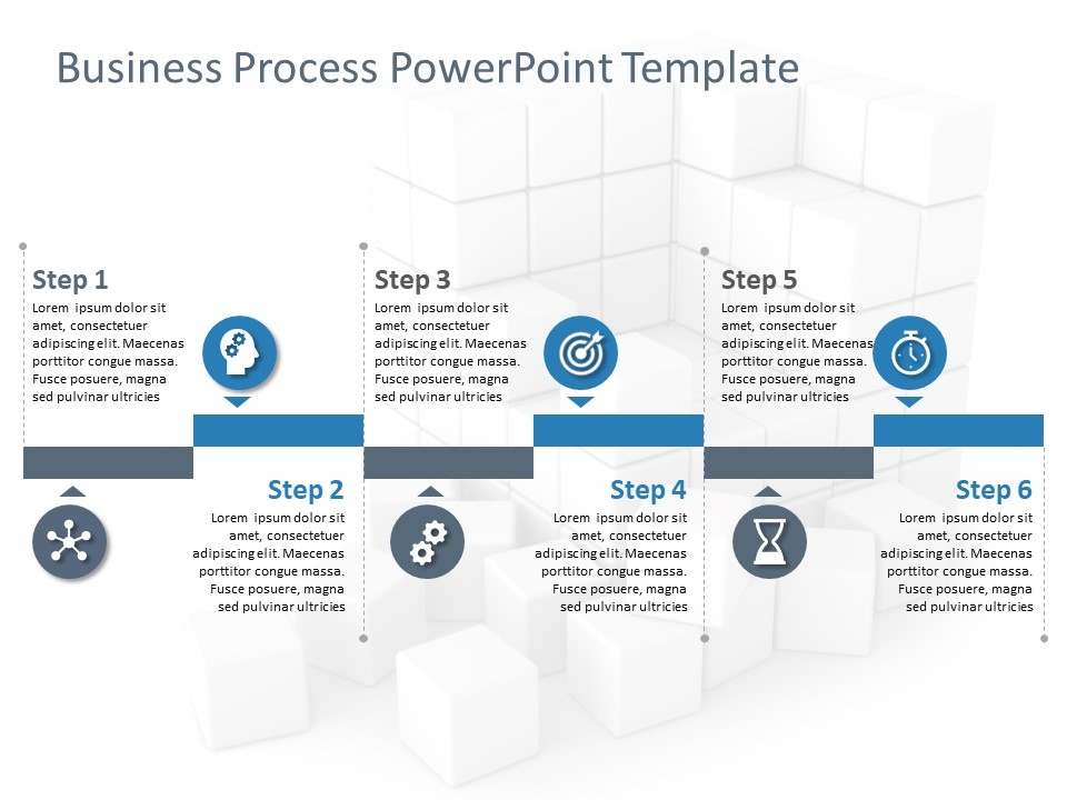 Business Process Powerpoint Template 6 Powerpoint Templates Powerpoint Business Process