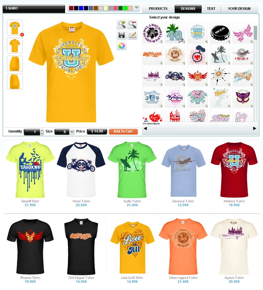 Design Your Own Shirts Online: Create Custom T-shirts Online. Find Personalized T-shirts