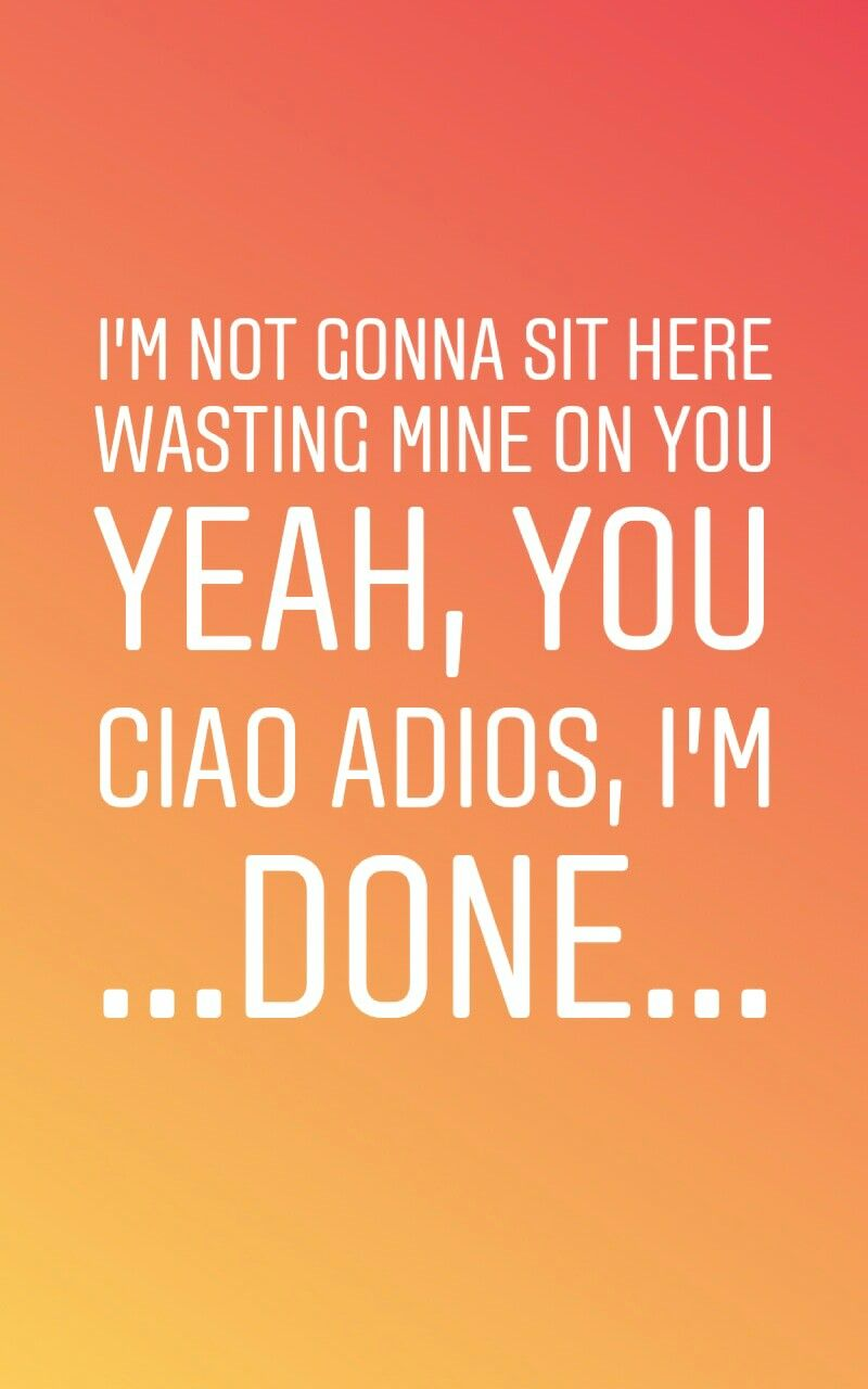 Anne Marie Ciao Adios Pinterest Sibora Z Lyrics Tumblr Music