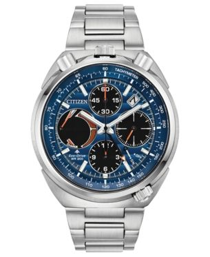 9232952ac19 Citizen Eco-Drive Men s Chronograph Promaster Tsuno Racer Stainless Steel  Bracelet Watch 45mm