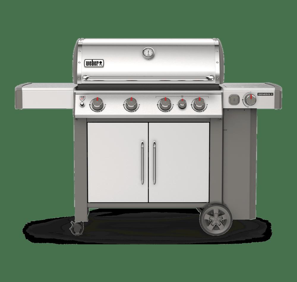 Genesis Ii S 435 Gas Grill Stainless Steel Gas Grill Propane Gas Grill Stainless Steel Side Table