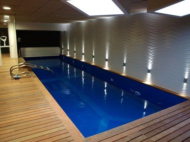 Piscina interior a medida piscinas pinterest - Piscinas interiores pequenas ...