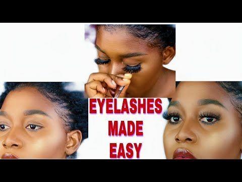 5 basic steps/ 5 basic equipments to apply false eyelashes