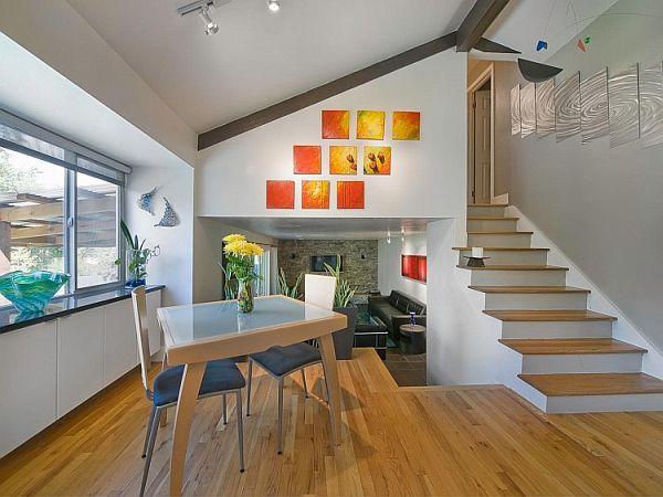 Artistic Tri Level Residence In Denver Home Renovation Modern Houses Interior Home