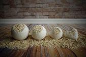 Repair Milk  Honey Bath Bomb by ThreeSweetPetites on Etsy