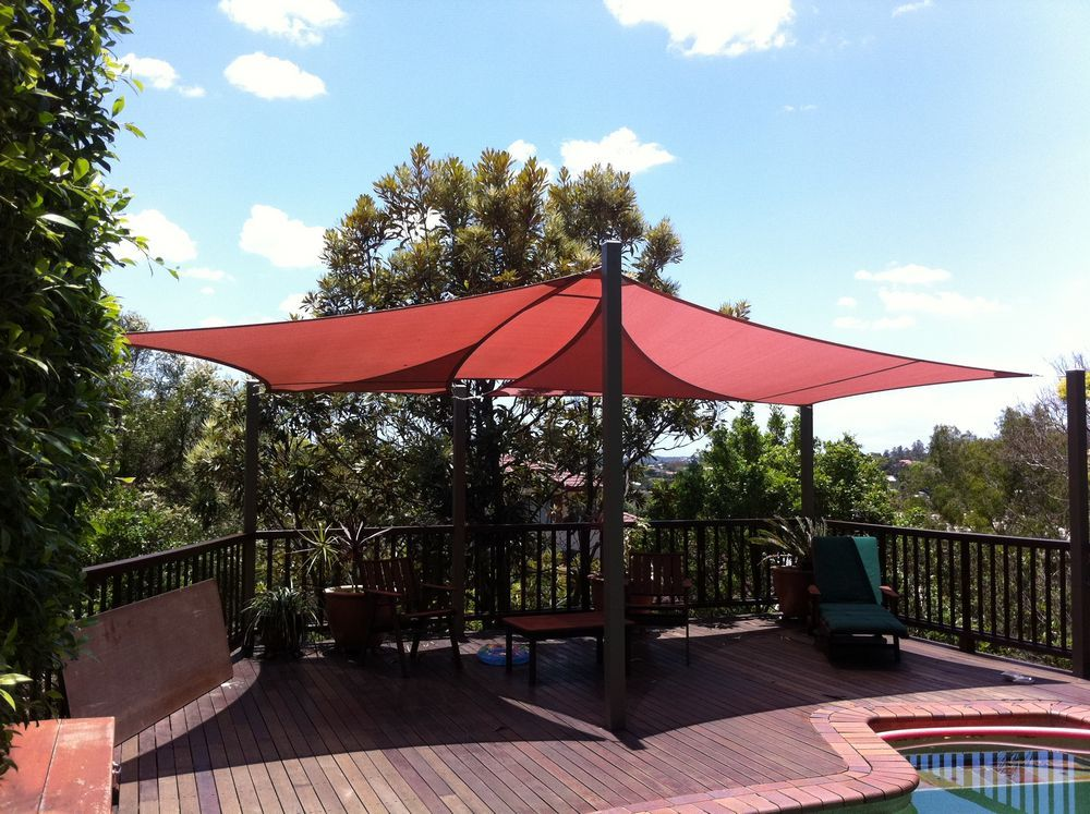 Shade Sails Very Cheap Easy Diy Solution To Shade Over