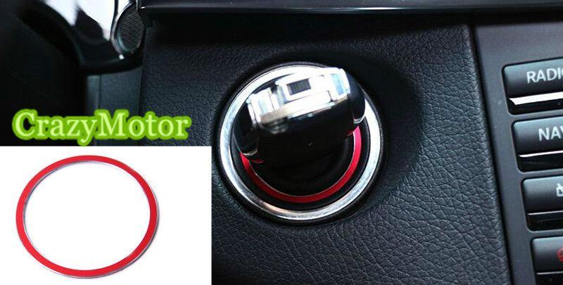 1* Metal Start Stop Engine Push Button Key Trim Ring