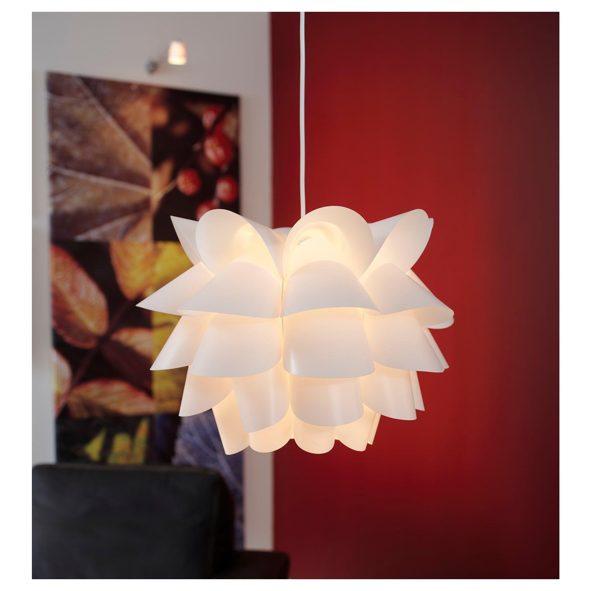 KNAPPA Hängeleuchte weiß | Anhänger lampen, Ikea lampen und