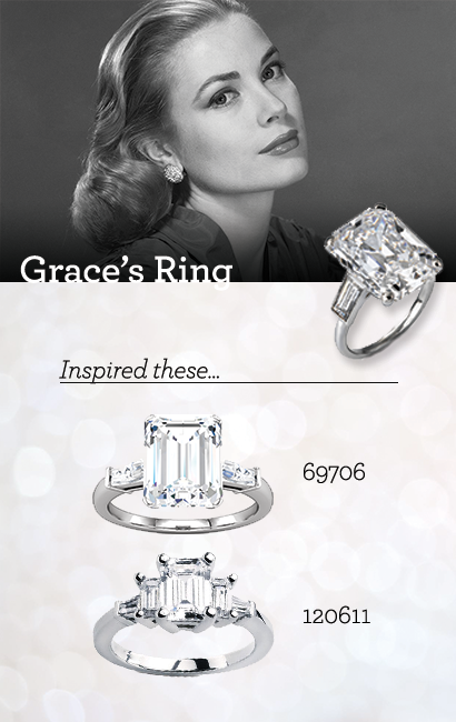 Inspiration: Grace Kellyu0027s Wedding Ring #styleicon #rostjewelers