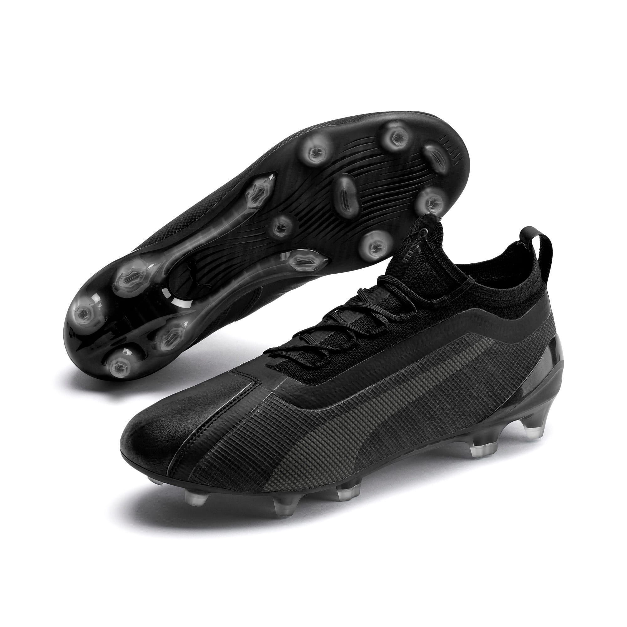 PUMA One 5.1 EvoKnit FG/AG Men's Football Boots in Black ...