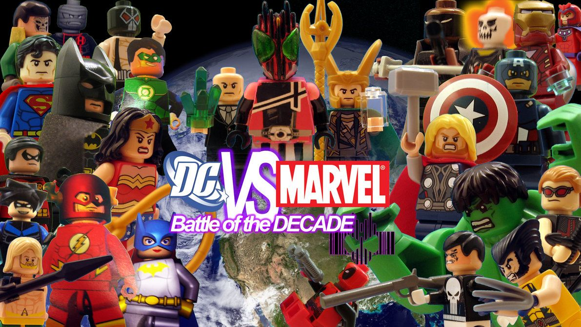 lego marvel vs dc lego dc vs marvel