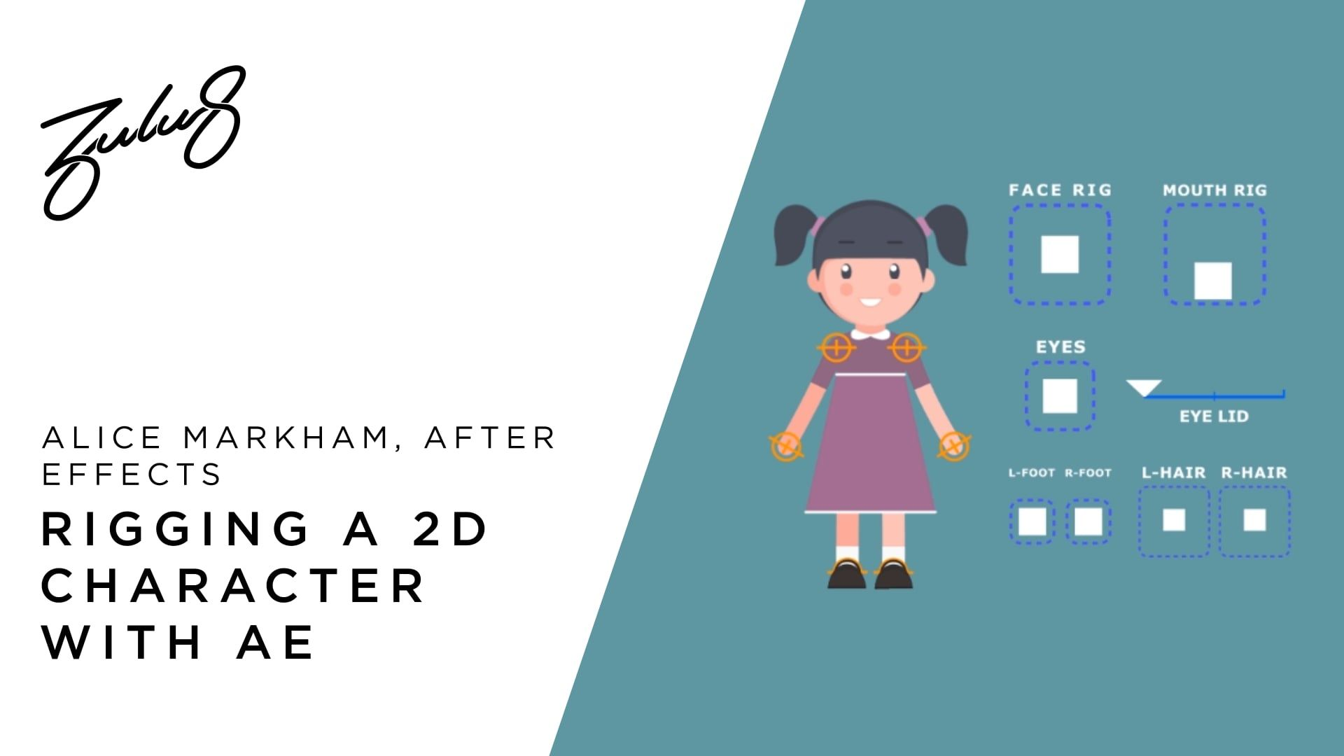 How to rig a 2D character in After effects PART 1 | Motion