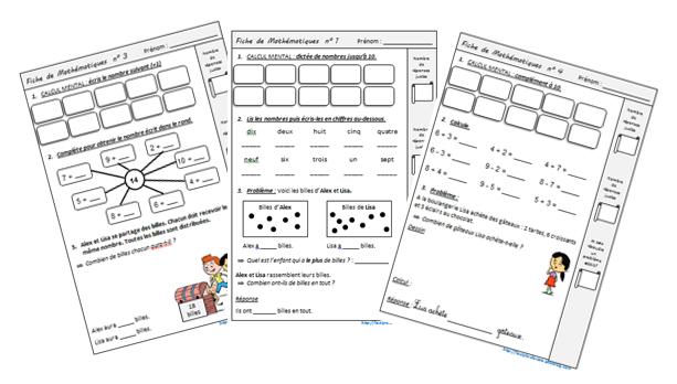 Exercices quotidiens en complément de Cap Maths CE1 | Les ...