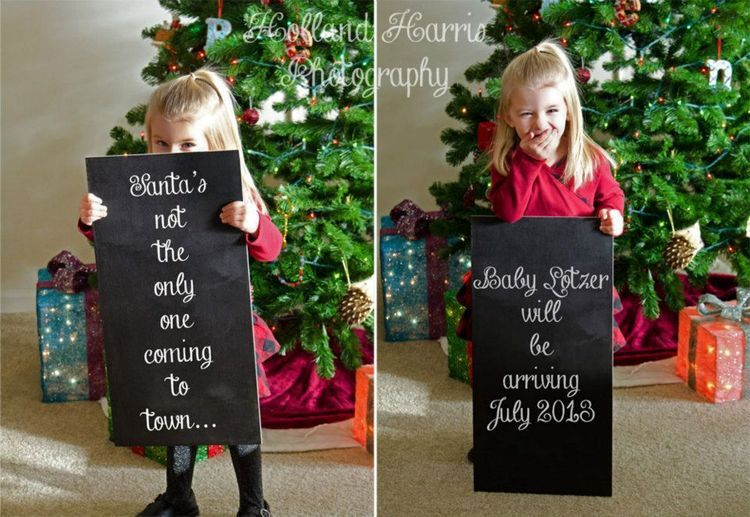 17 Best images about Baby annou photography – Christmas Baby Pregnancy Announcement