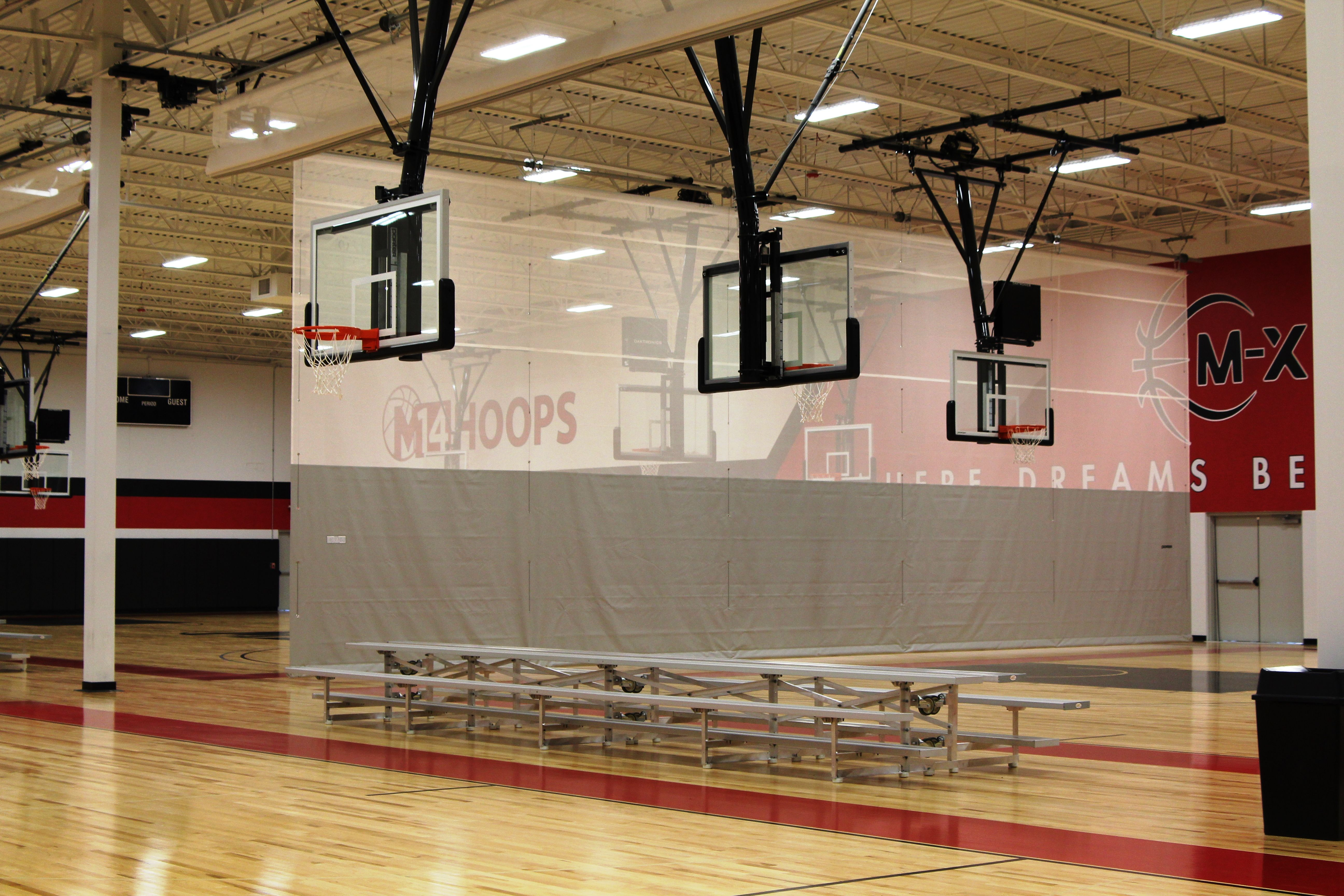 Gym Divider Curtain Safety And Maintenance Divider Curtains Gym