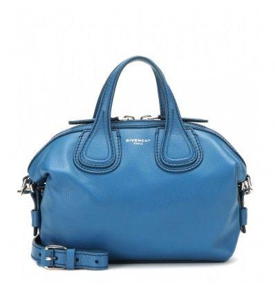 Blaue Mini-Ledertasche Nightingale Micro By Givenchy