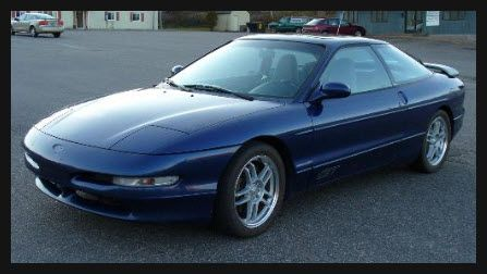 My 2nd Car 95 Ford Probe But Mine Was Sea Foam Green Ford