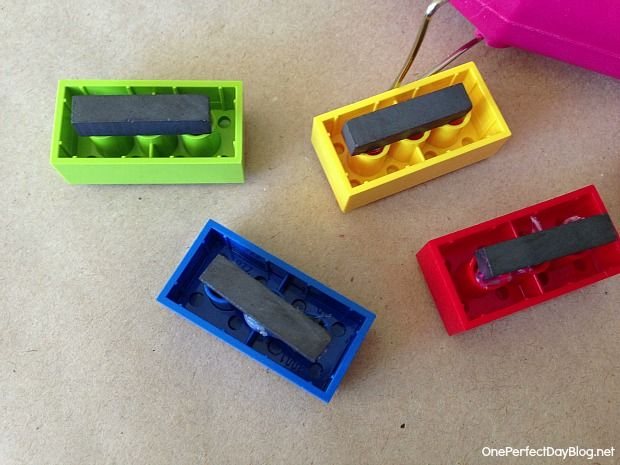 Diy lego magnets great for back to school craft craft for Diy lego crafts