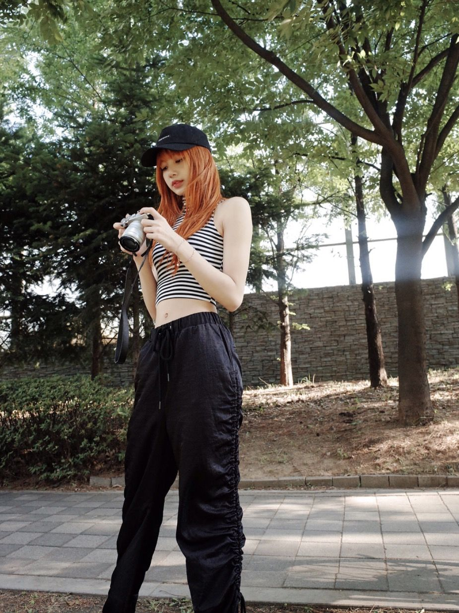 Swagggg 🔥 Parachute Pants, Women\u0027s Fashion, Korean Fashion, Blackpink  Outfits, Dance Outfits