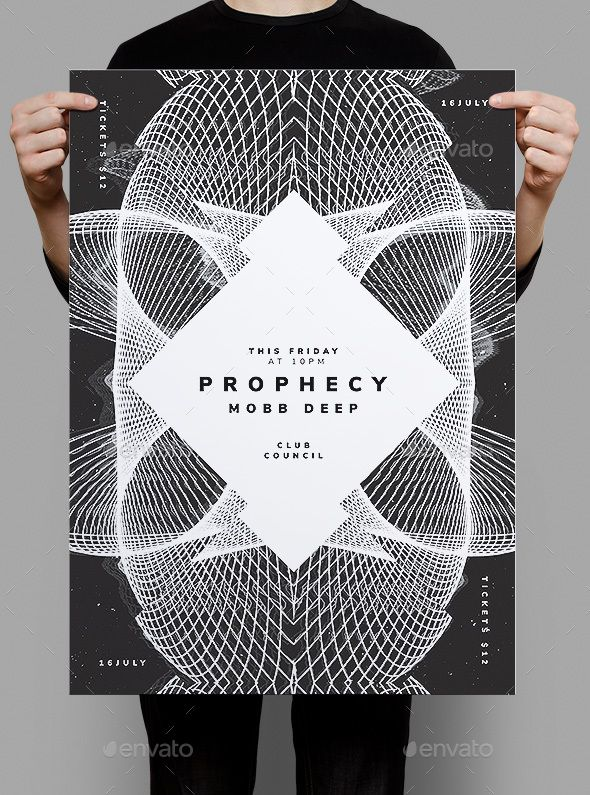 prophecy flyer poster