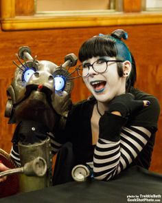 Steam Powered Giraffe is programmed to love all! Description from pinterest.com. I searched for this on bing.com/images
