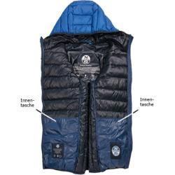 North Sails Steppjacke Herren, Mikrofaser, blau North Sails