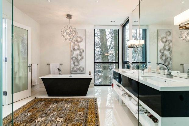 le choix du tapis persan pour salle de bain un bon choix aprs la plomberie afin de donner got et un cot antique cette espace douche - Tapis Persan Moderne