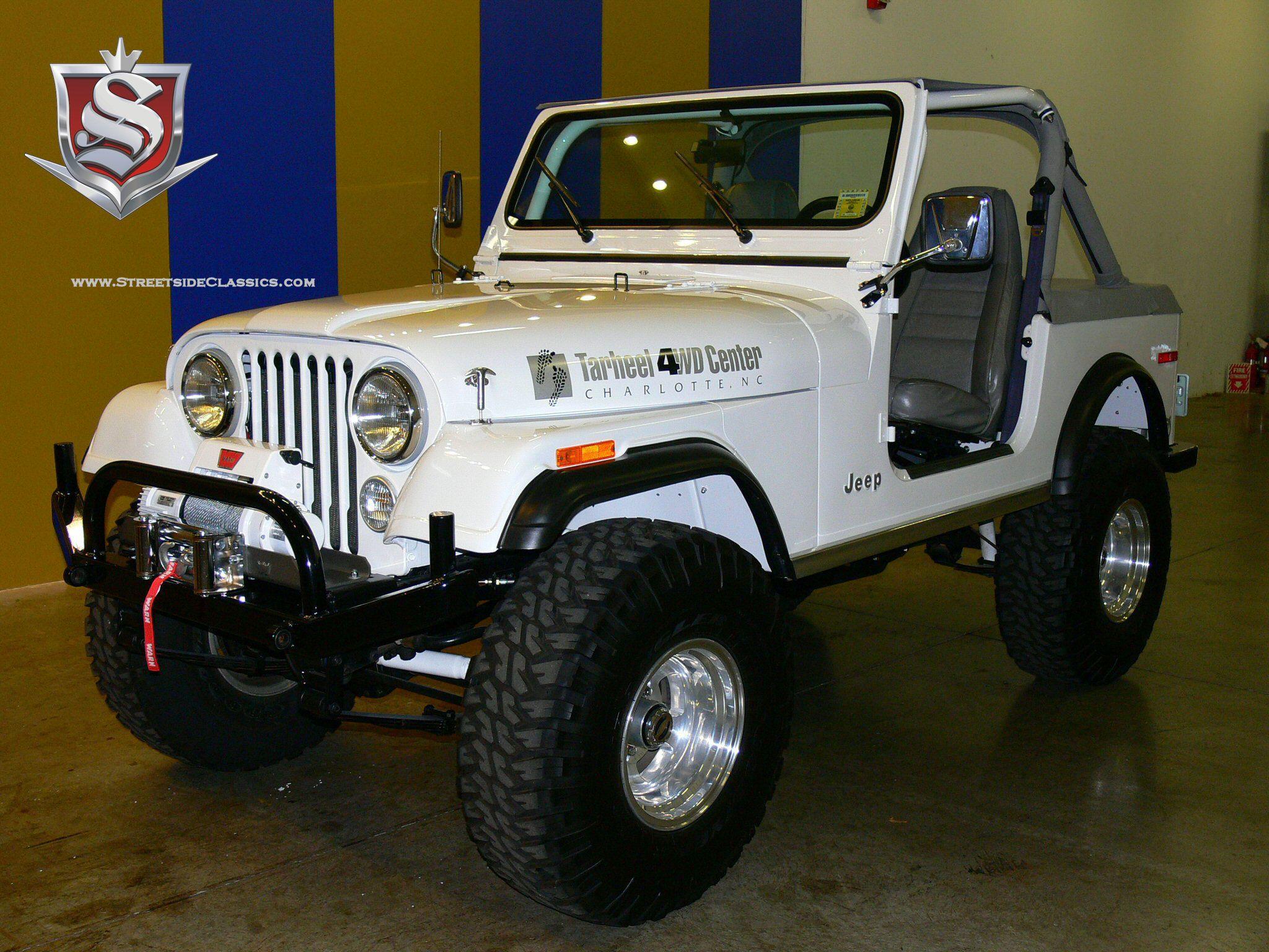 Jeep cj7 white