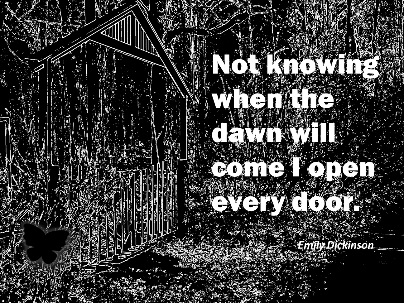 A beautiful quote by Emily Dickinson