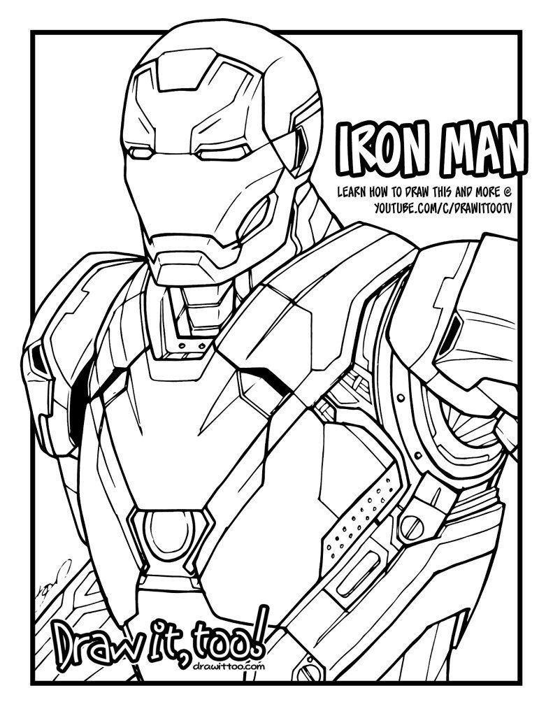 Captain America Civil War Coloring Pages Iron Man Mark 46 Captain America Civil Captain America Coloring Pages Superhero Coloring Pages Superman Coloring Pages